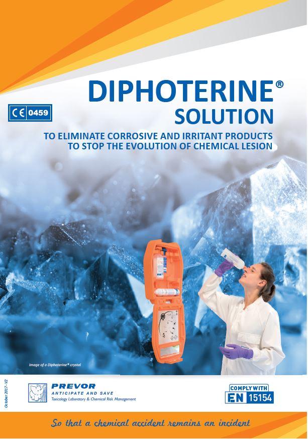 Diphoterine Brochure